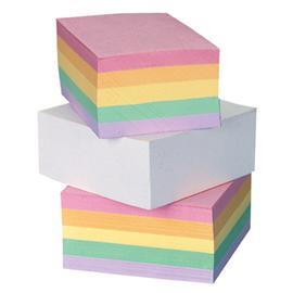 Kostka papierowa klejona 85x85 mm kolor