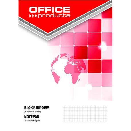 Blok biurowy Office Products A5 100k., kratka-12605