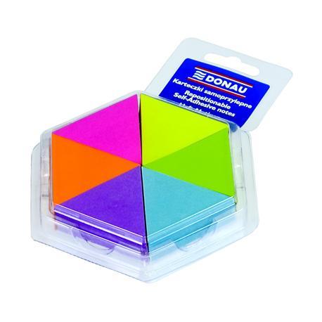 Zakładki indeks.Donau trójkąty mix kolorów-4863