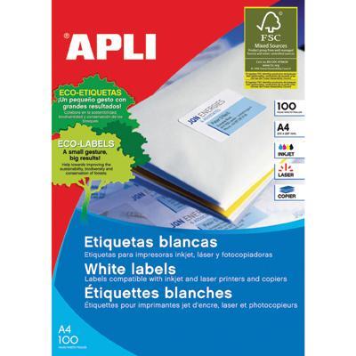 Etykiety Apli 199,6x289,1 mm zaokrąglone rogi-4884