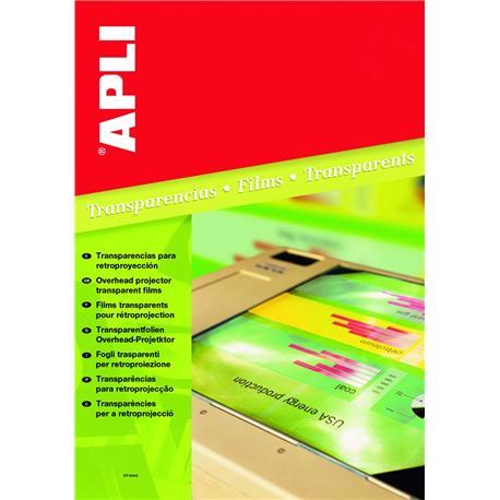 Folia A4 Apli do druk. atramentowych (50) AP1230-4937