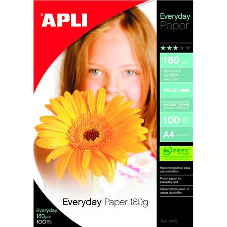 Papier fotograf. Apli Everyday photo 180g (100)-4940
