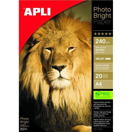 Papier fotograf. Apli Photo Bright 240g (20)-4943