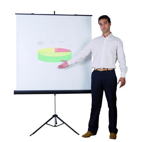 Ekran na trójnogu Bi-Office 1520x1520-5642