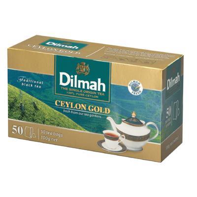 Herbata Dilmah Ceylon Gold ekspresowa 50 torebek-6319