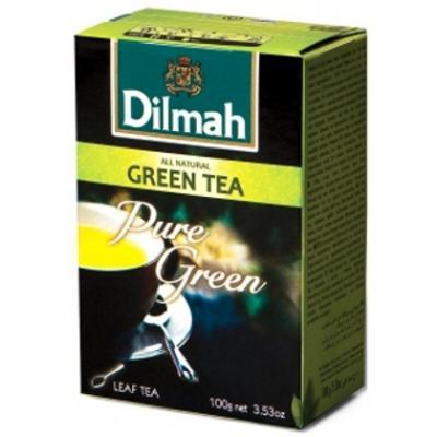 Herbata Dilmah Natural zielona liściasta 100g-12840