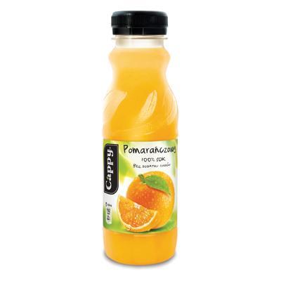 Napój Cappy pomarańczowy 0,33l butelka PET-6806