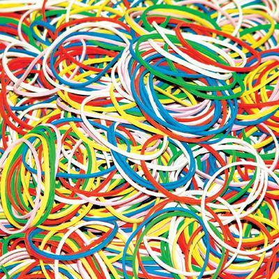 Gumki recepturki 0,5 kg, mix kolorów, 60 mm-1439