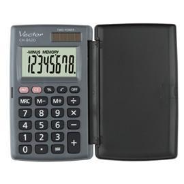 Kalkulator Vector CH-862D kieszonkowy