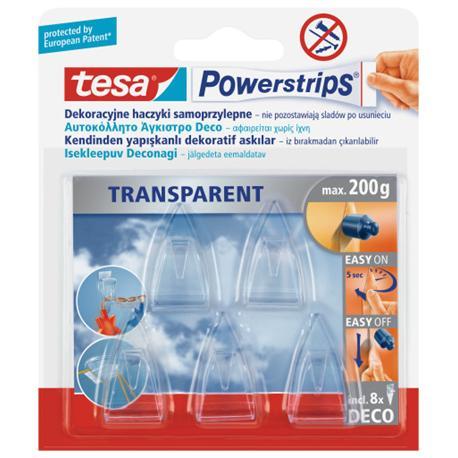 Haczyki samoprzylepne Tesa Powerstrips -14431