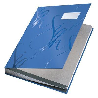 Książka do podpisu Leitz 18 przegródek-12970