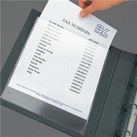 Kieszeń samoprzylepna na dokumenty A4 220x302 mm