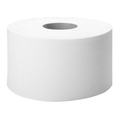 Papier toal.Jumbo Cliver 2w biała makulatura-7700
