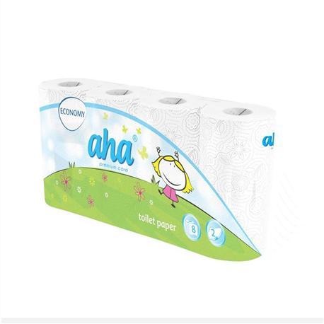 Papier toaletowy AHA biały (8)-12816