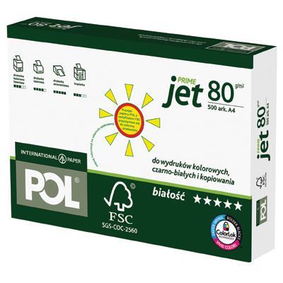 Papier A4 POL jet prime 80g-725