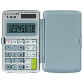Kalkulator Q-Connect 8-cyfrowy w etui