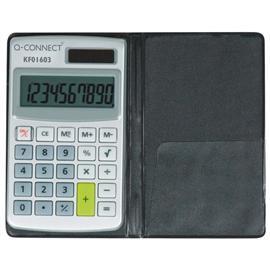 Kalkulator Q-Connect 10-cyfrowy w etui