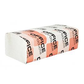 Ręcznik ZZ OP 2 warst. biała celul. 3000szt.