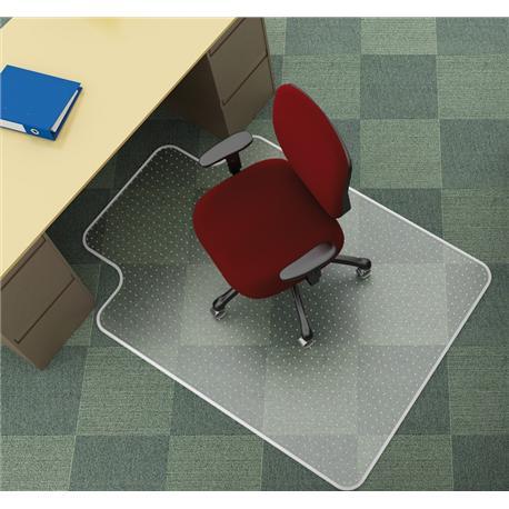 Mata pod krzesło na dywany, 134x115cm kształt T-13918