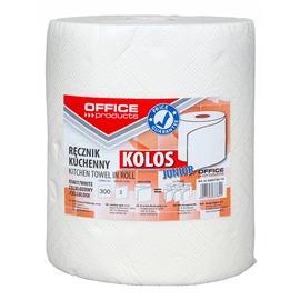 Ręcznik w roli Office Products celuloza 2w białe