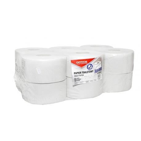 Papier toal.Jumbo OP 1 warst.biała makul.(12)-14271