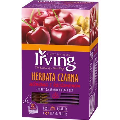 Herbata Irving czarna Wiśnia z kardamonem 20 koper-11776