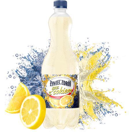 Woda Żywiec gazowana z sokiem z cytr.1l (6 szt.)-12758