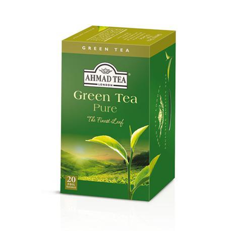Herbata Ahmad Green Tea Pure 20 kopertek-14515