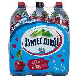 Woda Żywiec niegazowana wiśnia 1,5l (6 szt.)