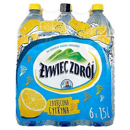 Woda Żywiec niegazowana cytryna 1,5l (6 szt.)-15164