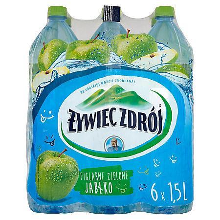 Woda Żywiec niegazowana jabłko 1,5l (6 szt.)-15167