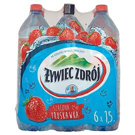 Woda Żywiec niegazowana truskawka 1,5l (6 szt.)
