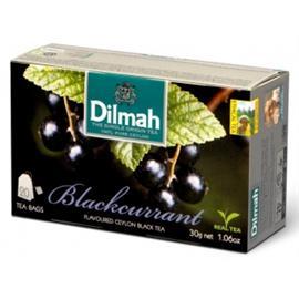 Herbata Dilmah czarna porzeczka ekspresowa 20 szt.