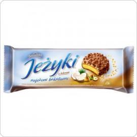 Ciastka Jeżyki kokosowe 140g