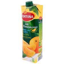 Sok Fortuna pomarańczowy 1l