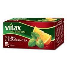 Herbata Vitax Melisa z Pomarańczą, ekspresowa(20)-9577