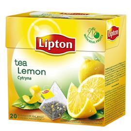 Herbata Lipton piramidka Lemon 20 torebek