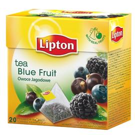 Herbata Lipton piramidka Blue Fruits Tea 20 t