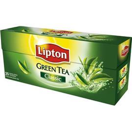 Herbata Lipton Green Tea Classic ekspresowa 25 t.