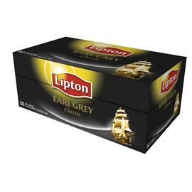 Herbata Lipton Earl Grey ekspresowa 50 torebek