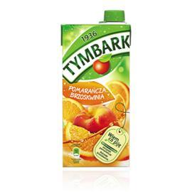 Napój Tymbark Pomarańcza-Brzoskwinia 1l