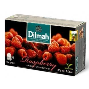 Herbata Dilmah malinowa ekspresowa 20 szt.-3127