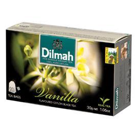 Herbata Dilmah waniliowa ekspresowa 20 szt.