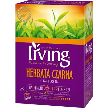 Herbata Irving Classic czarna 100 torebek-11763