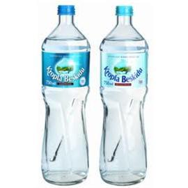 Woda Kropla Beskidu gazowana 0,33l szkło (12szt)