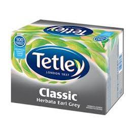 Herbata Tetley Earl Grey Classic 100 torebek