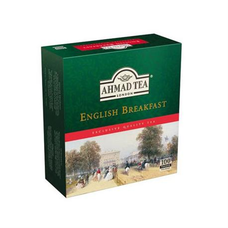 Herbata Ahmad Tea English Breakfast ex.100 szt-6892