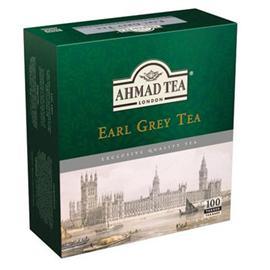 Herbata Ahmad Tea Earl Grey ekspr.sznurek 100 szt.