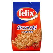 Felix Orzeszki ziemne solone z papryką 300/250g-7546