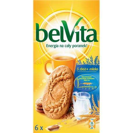 Ciastka Belvita 5 Zbóż i Mleko 300g (6x50g)-10454